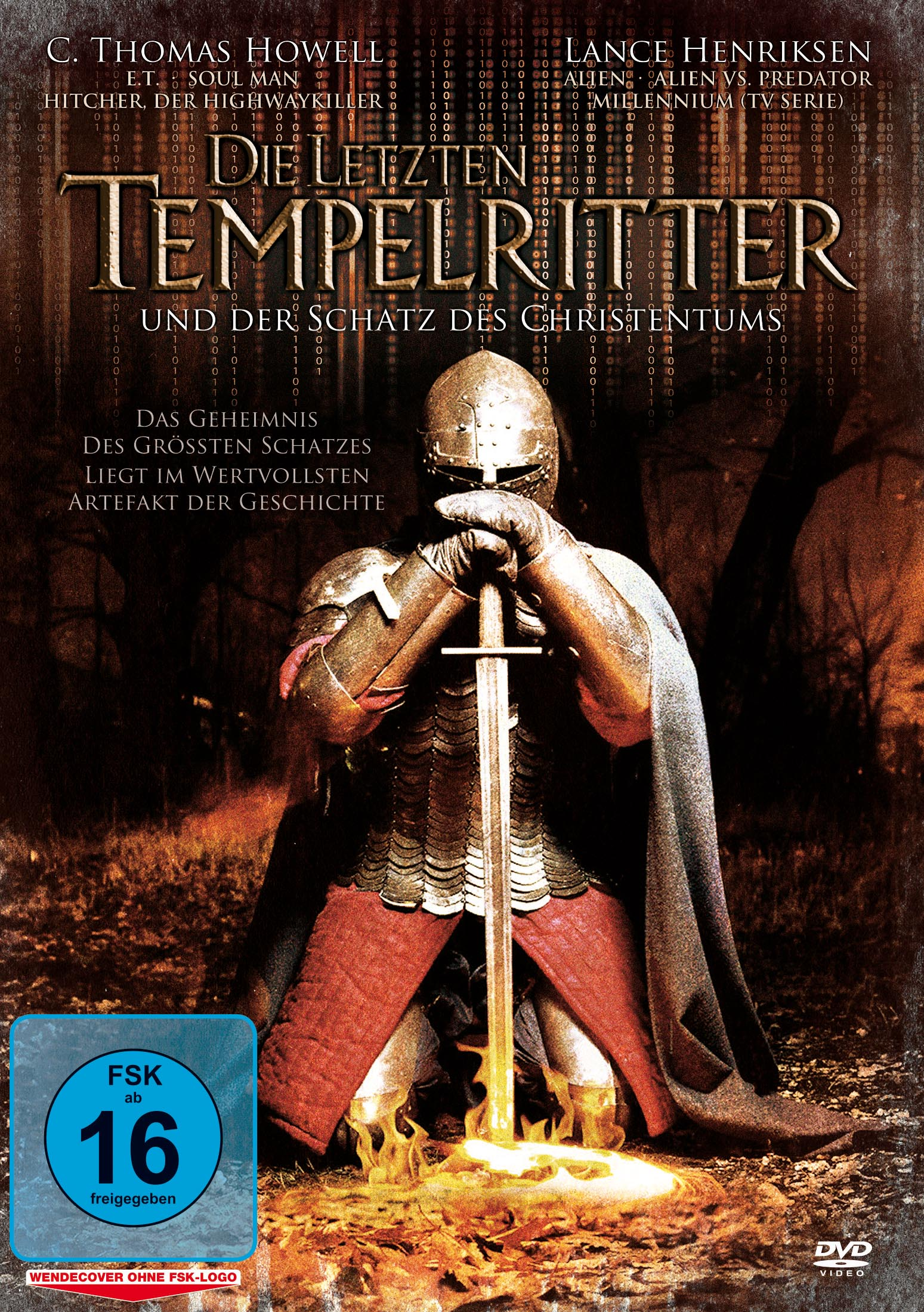 Die letzten Tempelritter und der Schatz des Christentums DVD Cover