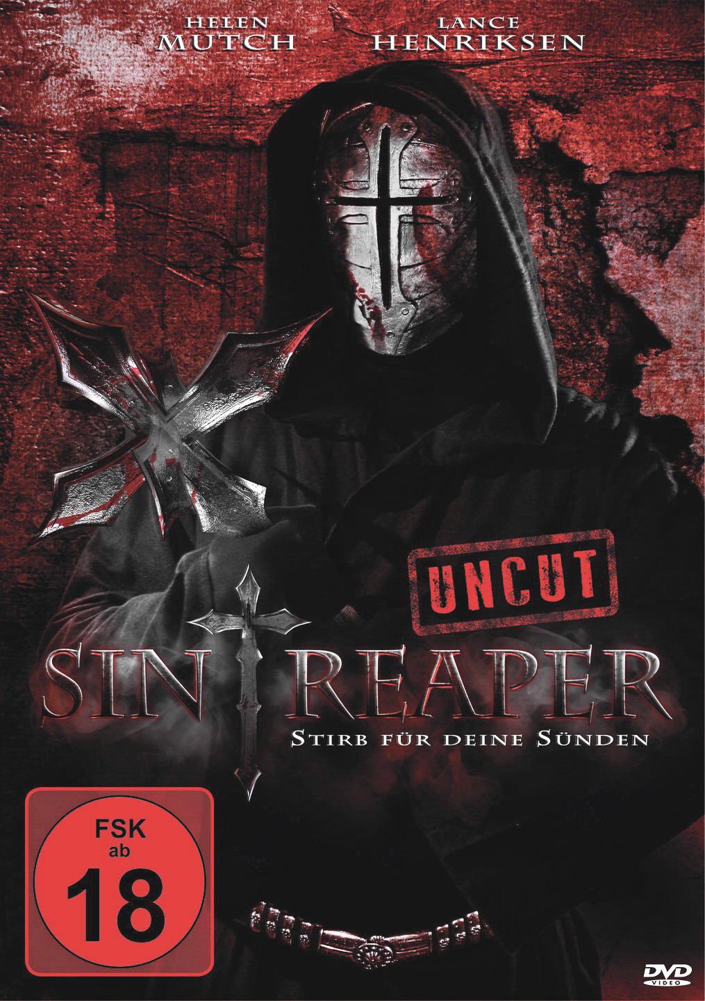 Sin Reaper DVD Cover