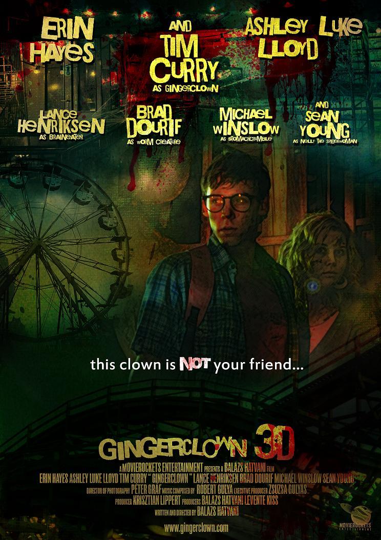Gingerclown 3D Poster